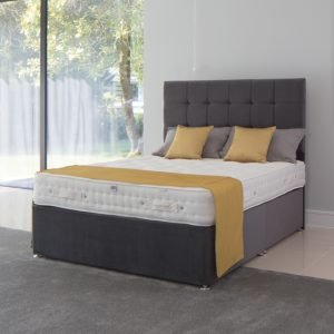 A Divan Bed With 1400 Pocket Springs and Venus Headboard