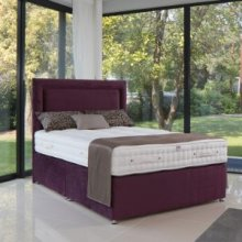 A Divan Bed With 2000 Pocket Springs and Headboard