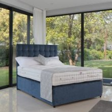 A Divan Bed With 3000 Pocket Springs and Headboard
