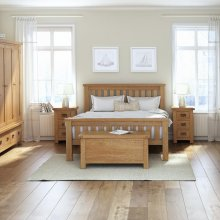 Slatted Frame Bedroom